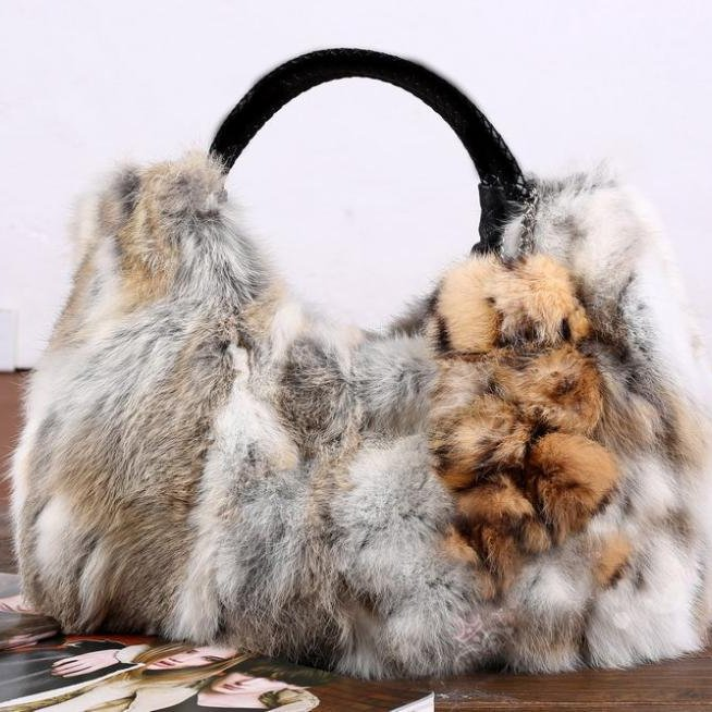 beautiful fur bags