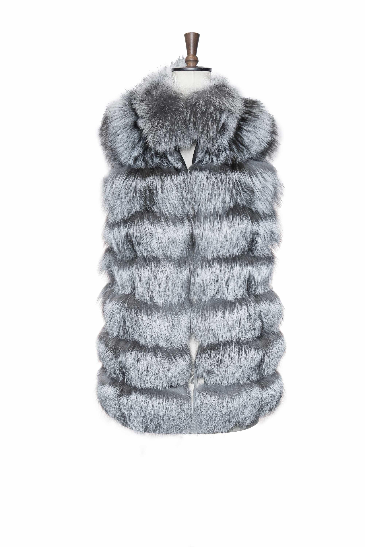 Grey Vintage Fur front side