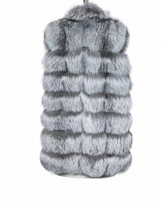 Grey Vintage Fur backside